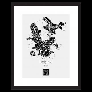 LOVE HEL / Helsinki / Kartta